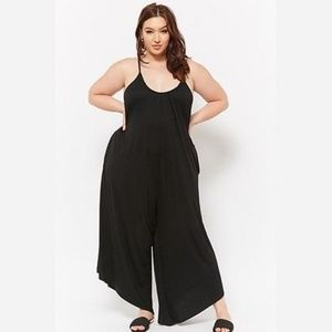 Forever 21 Plus Size Asymmetrical Hem Jumpsuit